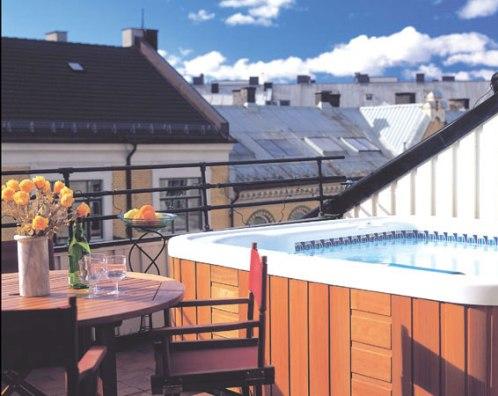 Hotspring Massagebad - Spabad på balkongen