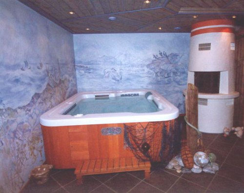 Hotspring Massagebad - Spabad inne