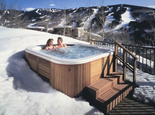 Hotspring Massagebad - Skibakke