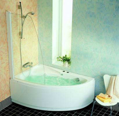 Ifö Sanitär AB - Bahamas m. badkarsvägg -Ifö