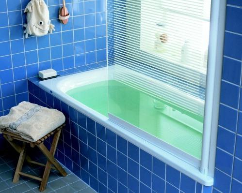 Ifö Sanitär AB - Space 2000 badkarsvägg -Ifö