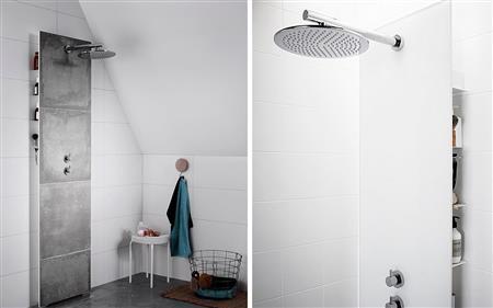 INR - Dusch glasvägg