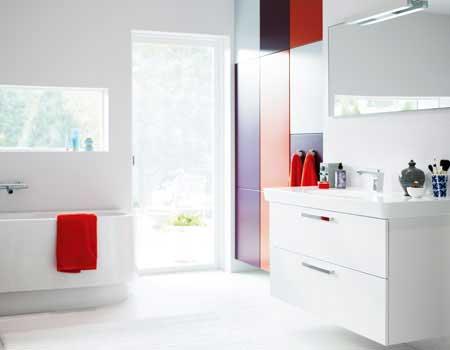Badrumsinspiration och färger i badrummet