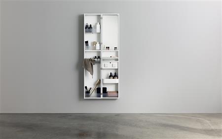 Aspen Badrum - Dubbel spegelförvaring