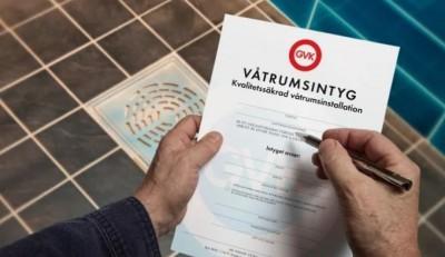 Bild: GVK Svensk våtrumskontroll