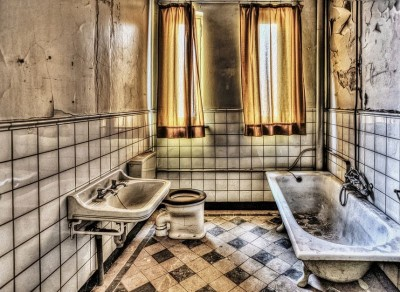 Smuttsigt  badrum