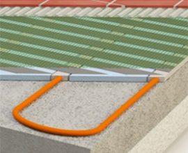 Patentsökt golvvärmesystem Heat Spreader