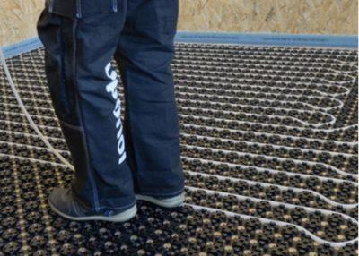 Uponor - Minitec - lågbyggande golvvärme för ingjutning